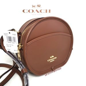 Coach Limited Edition Leather Canteen Crxbdy Bag
